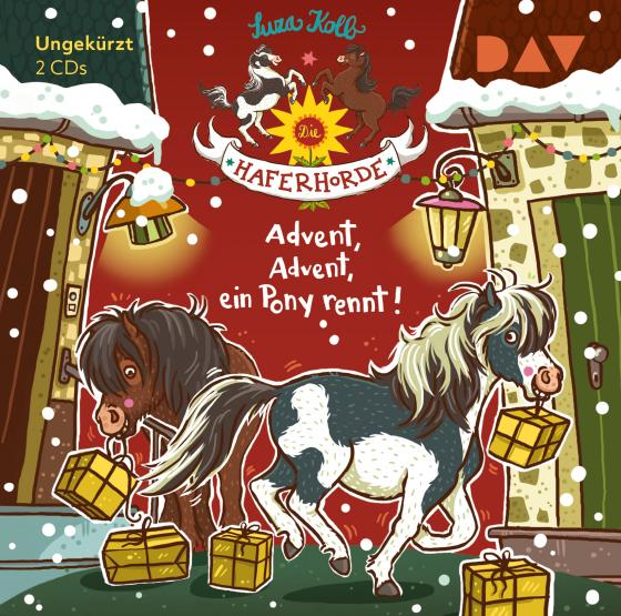 Cover-Bild Die Haferhorde – Teil 16: Advent, Advent, ein Pony rennt!