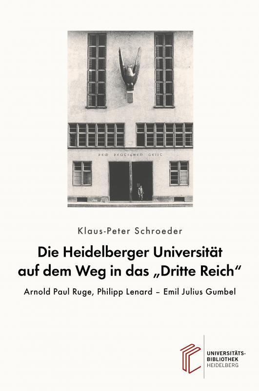 """Cover-Bild Die Heidelberger Universität auf dem Weg in das """"Dritte Reich"""""""