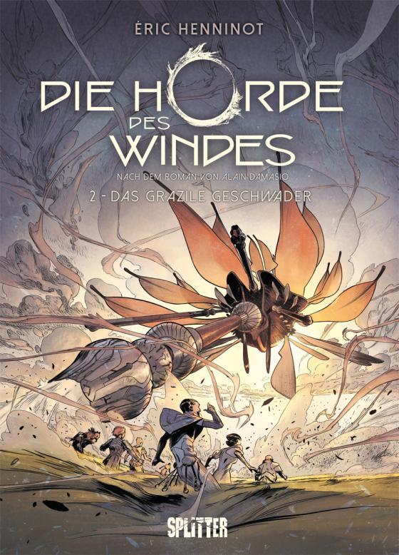 Cover-Bild Die Horde des Windes. Band 2