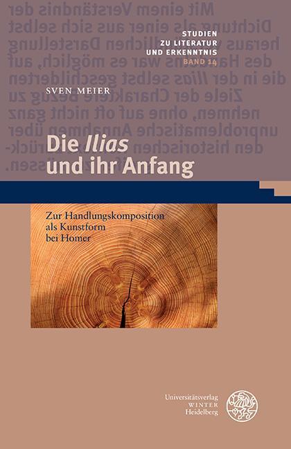 Cover-Bild Die 'Ilias' und ihr Anfang