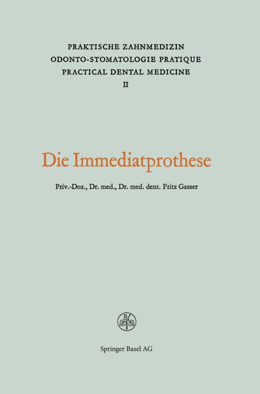 Cover-Bild Die Immediatprothese