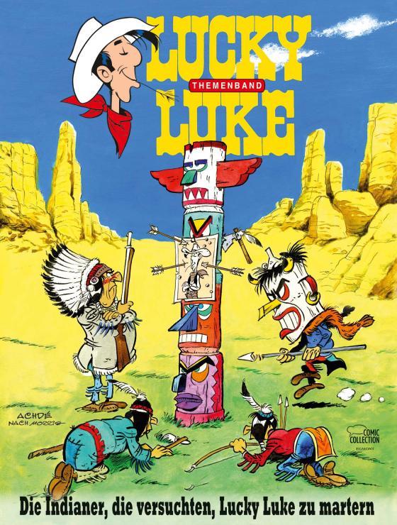Cover-Bild Die Indianer, die versuchten, Lucky Luke zu martern