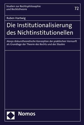 Cover-Bild Die Institutionalisierung des Nichtinstitutionellen