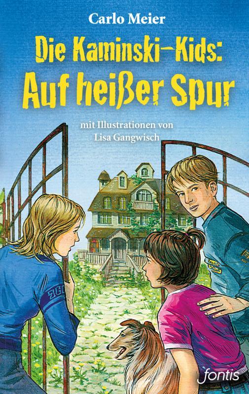 Cover-Bild Die Kaminski-Kids: Auf heißer Spur