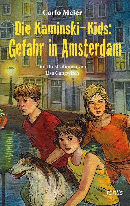 Cover-Bild Die Kaminski-Kids: Gefahr in Amsterdam