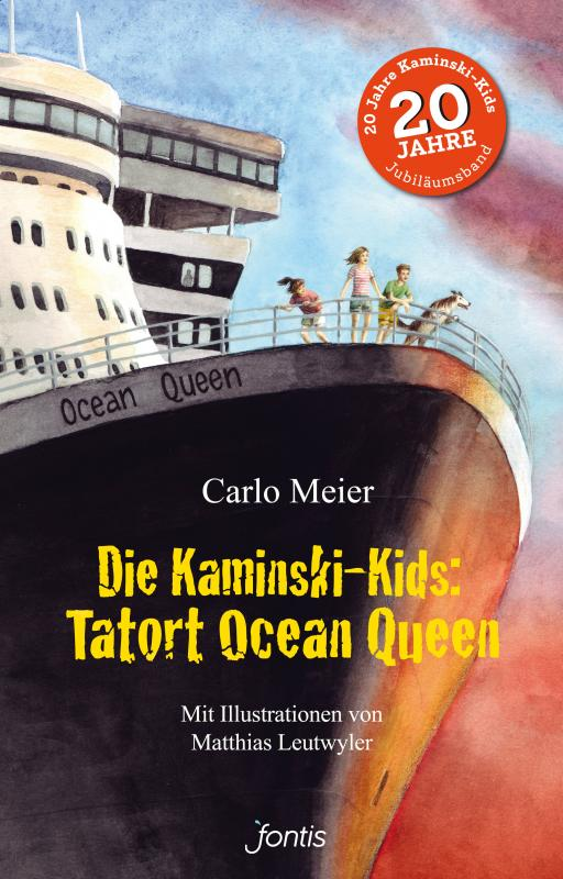 Cover-Bild Die Kaminski-Kids: Tatort Ocean Queen