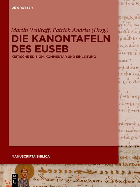 Cover-Bild Die Kanontafeln des Euseb