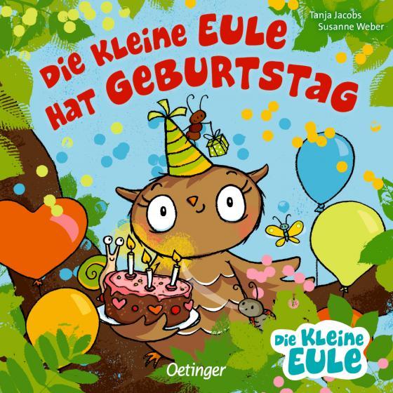 Cover-Bild Die kleine Eule hat Geburtstag