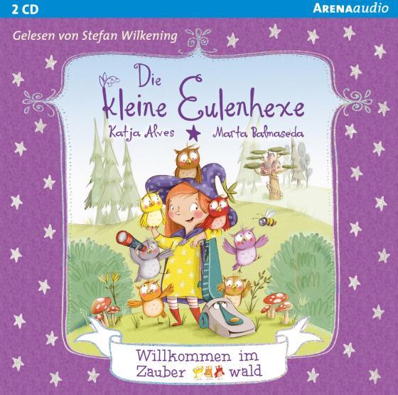 Cover-Bild Die kleine Eulenhexe (1). Willkommen im Zauberwald