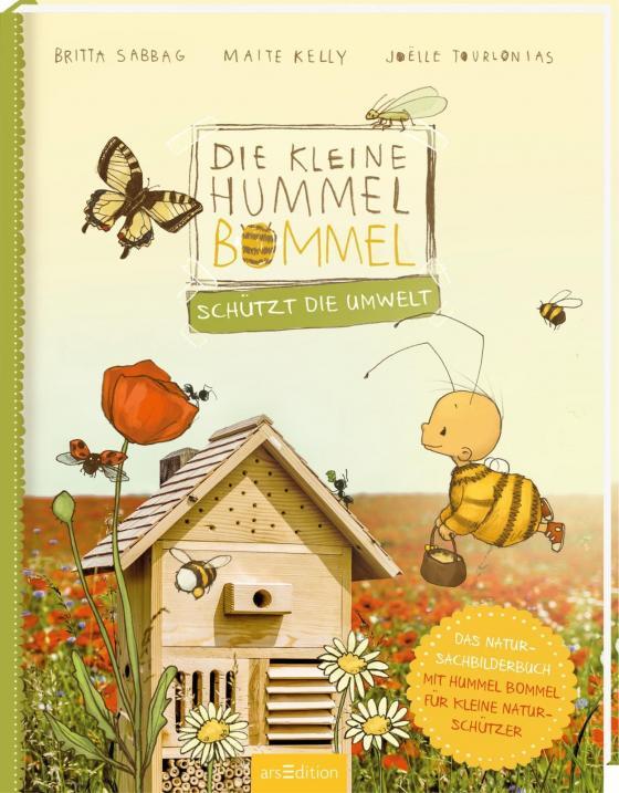 Cover-Bild Die kleine Hummel Bommel schützt die Umwelt