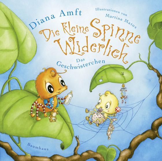 Cover-Bild Die kleine Spinne Widerlich - Das Geschwisterchen (Mini-Ausgabe)