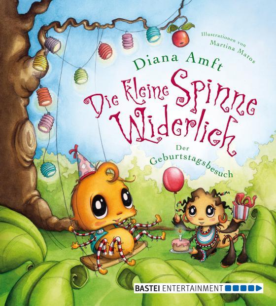 Cover-Bild Die kleine Spinne Widerlich - Der Geburtstagsbesuch