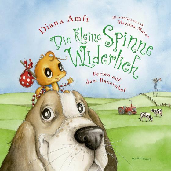 Cover-Bild Die kleine Spinne Widerlich - Ferien auf dem Bauernhof Pappbilderbuch