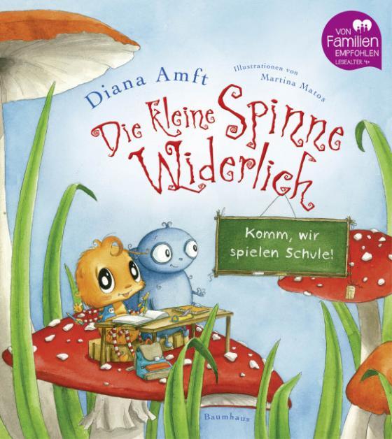 Cover-Bild Die kleine Spinne Widerlich - Komm, wir spielen Schule!