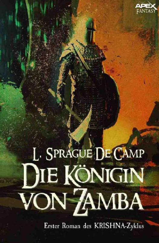 Cover-Bild DIE KÖNIGIN VON ZAMBA - Erster Roman des KRISHNA-Zyklus