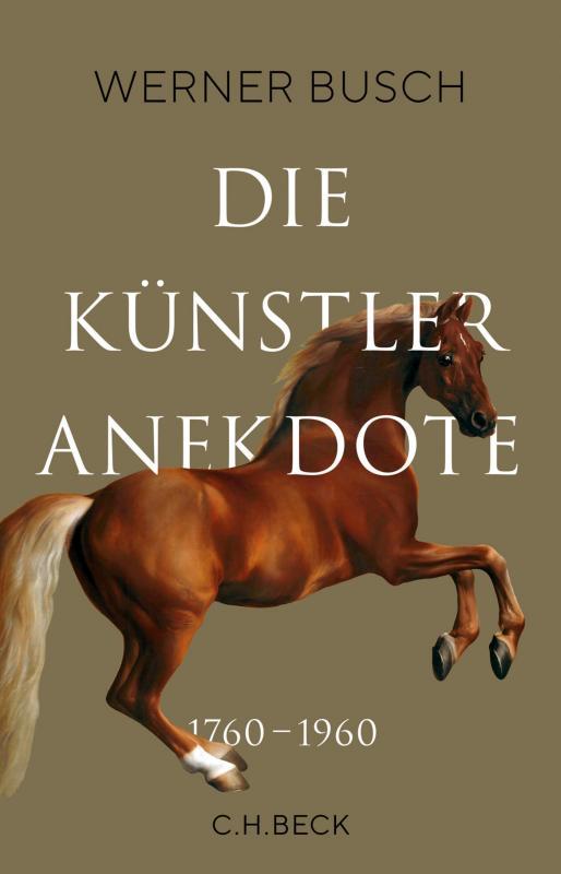 Cover-Bild Die Künstleranekdote 1760–1960