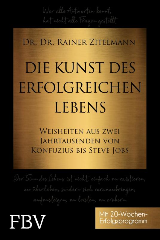 Cover-Bild Die Kunst des erfolgreichen Lebens
