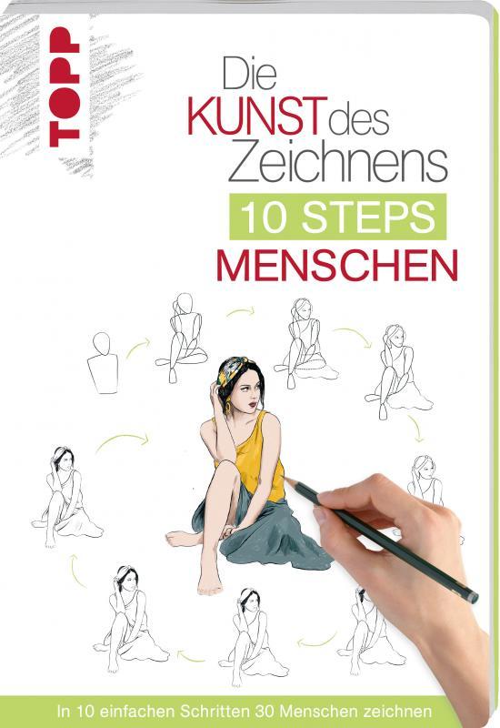 Cover-Bild Die Kunst des Zeichnens 10 Steps - Menschen