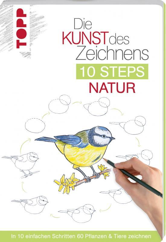 Cover-Bild Die Kunst des Zeichnens 10 Steps - Natur