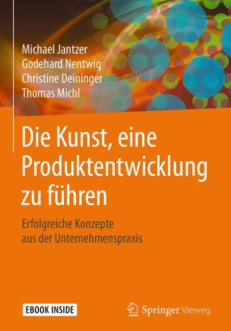 Cover-Bild Die Kunst, eine Produktentwicklung zu führen