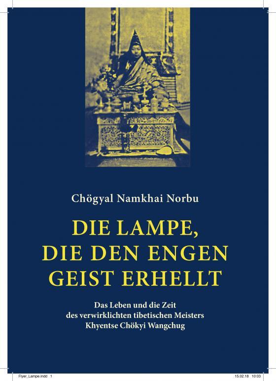 Cover-Bild Die Lampe, die den engen Geist erhellt