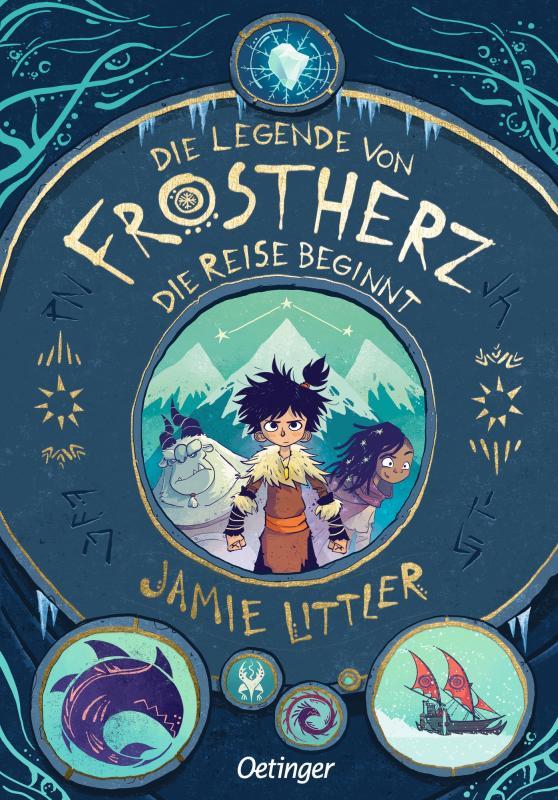 Cover-Bild Die Legende von Frostherz 1. Die Reise beginnt