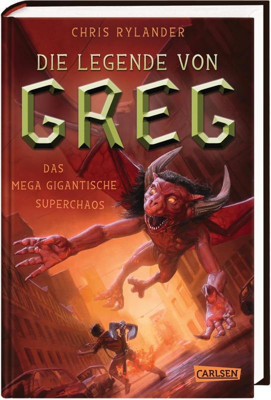 Cover-Bild Die Legende von Greg 2: Das mega-gigantische Superchaos