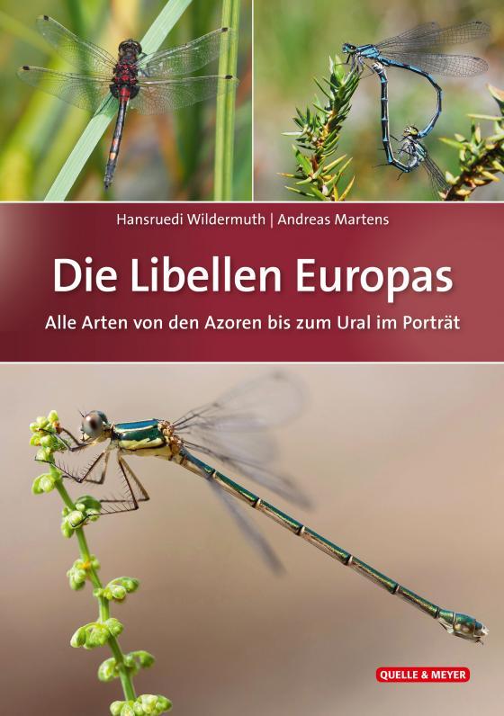 Cover-Bild Die Libellen Europas
