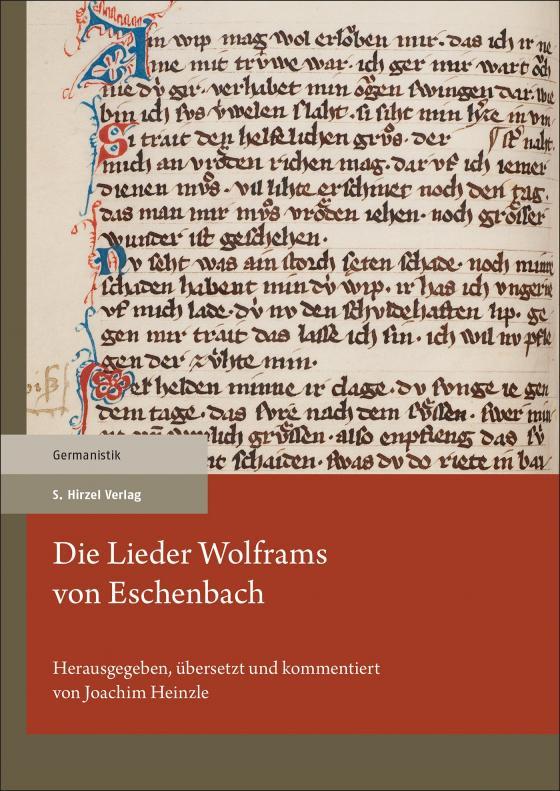 Cover-Bild Die Lieder Wolframs von Eschenbach