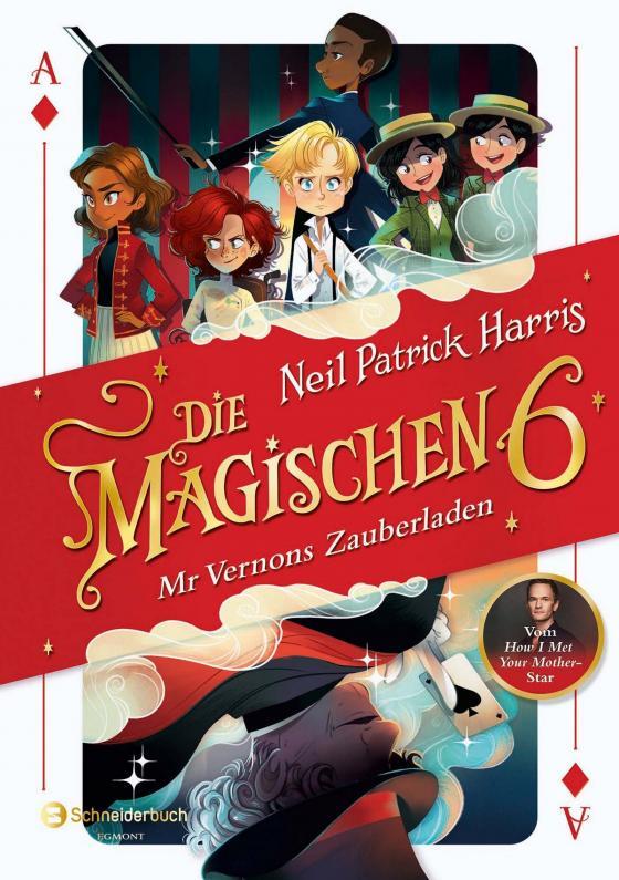 Cover-Bild Die Magischen Sechs - Mr Vernons Zauberladen