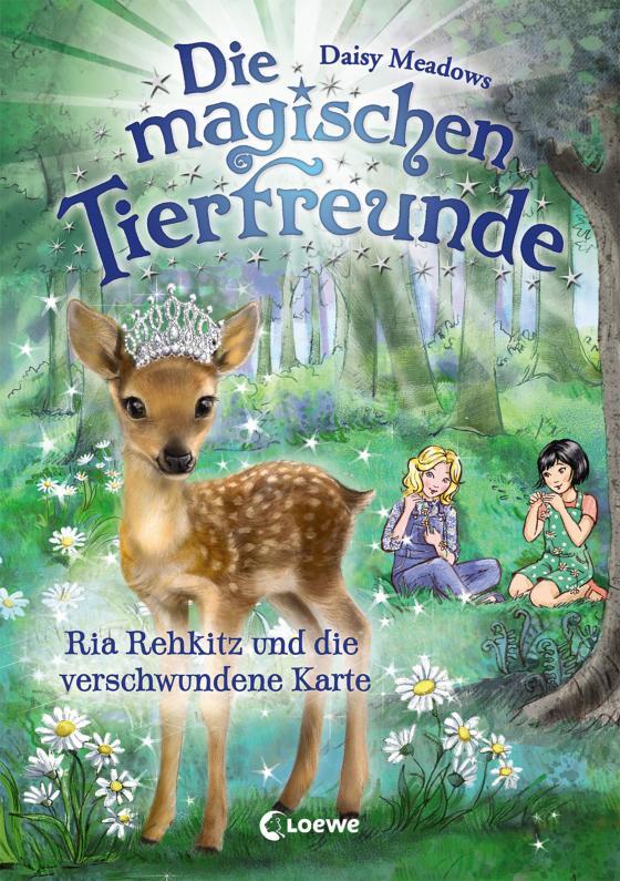 Cover-Bild Die magischen Tierfreunde 16 - Ria Rehkitz und die verschwundene Karte