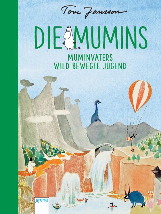 Cover-Bild Die Mumins (4). Muminvaters wild bewegte Jugend