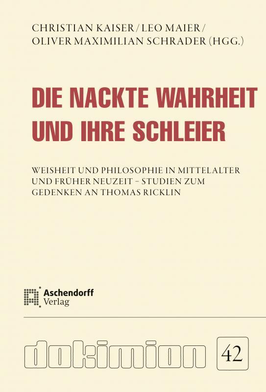 Cover-Bild Die nackte Wahrheit und ihre Schleier