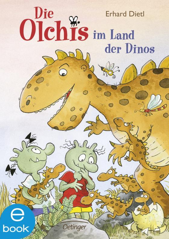 Cover-Bild Die Olchis im Land der Dinos