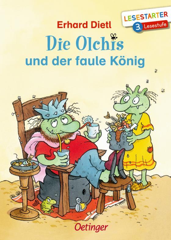 Cover-Bild Die Olchis und der faule König