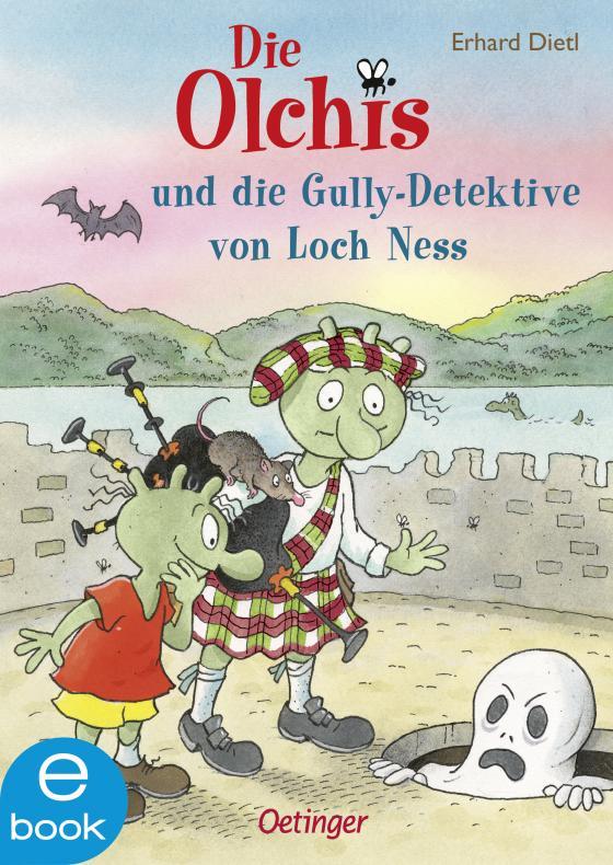 Cover-Bild Die Olchis und die Gully-Detektive von Loch Ness