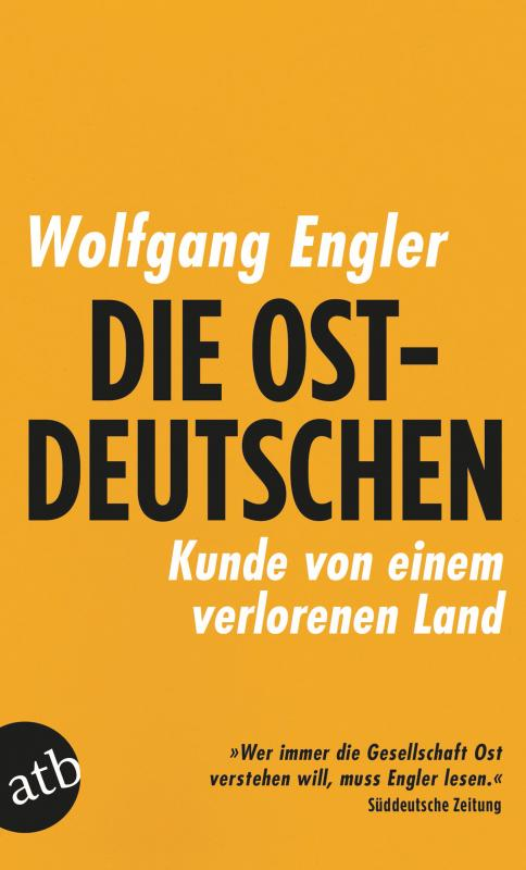 Cover-Bild Die Ostdeutschen