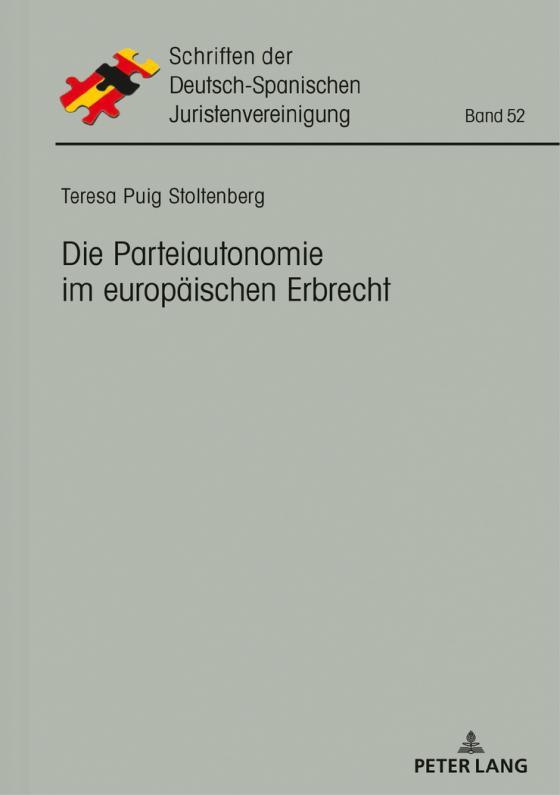 Cover-Bild Die Parteiautonomie im europäischen Erbrecht