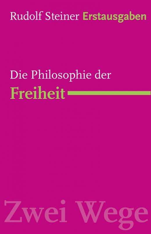 Cover-Bild Die Philosophie der Freiheit