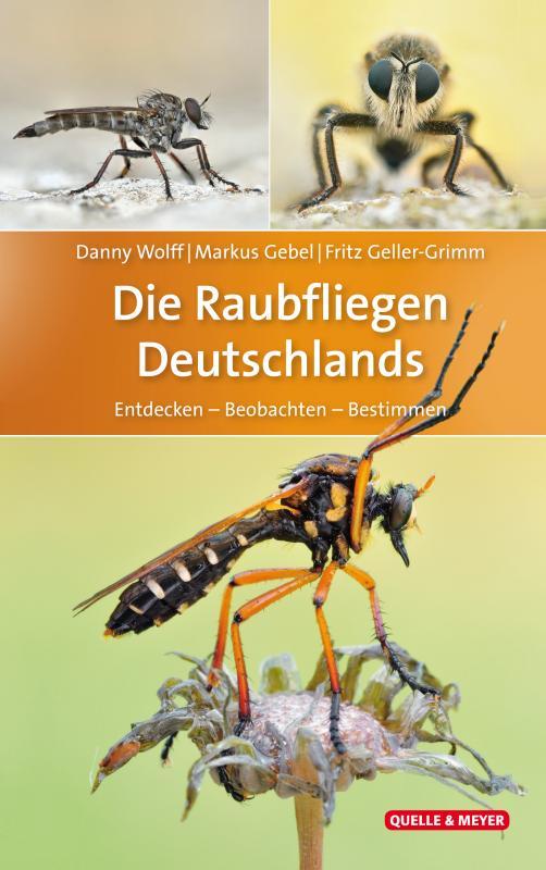 Cover-Bild Die Raubfliegen Deutschlands