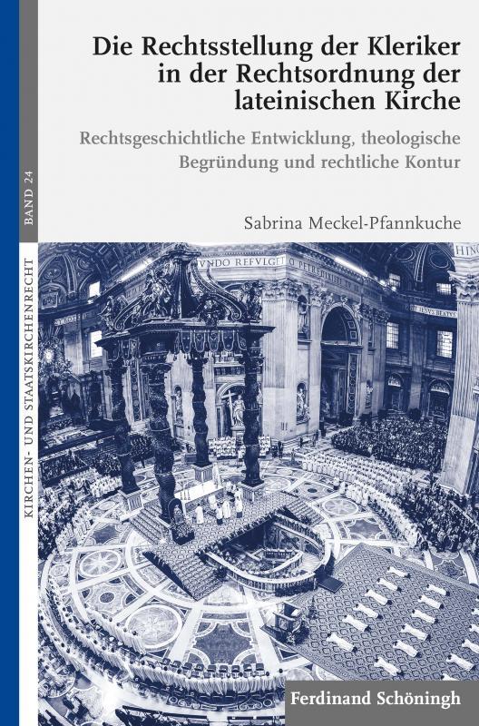Cover-Bild Die Rechtsstellung der Kleriker in der Rechtsordnung der lateinischen Kirche
