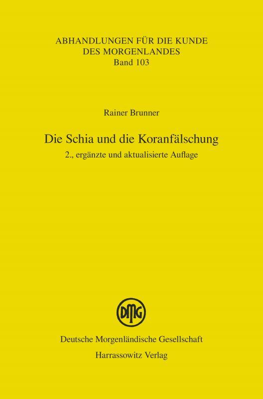 Cover-Bild Die Schia und die Koranfälschung
