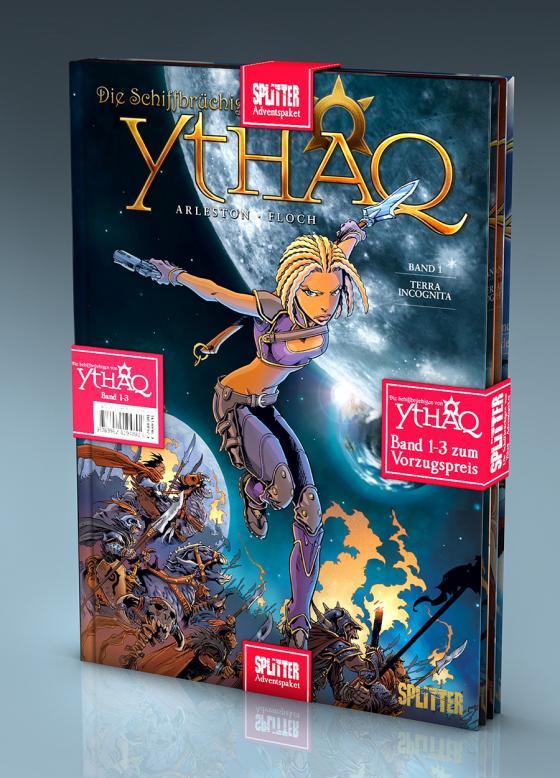 Cover-Bild Die Schiffbrüchigen von Ythaq-Adventspaket: Band 1 - 3 zum Sonderpreis