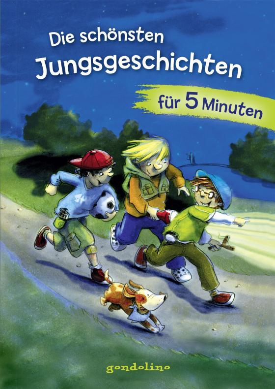 Cover-Bild Die schönsten Jungsgeschichten für 5 Minuten