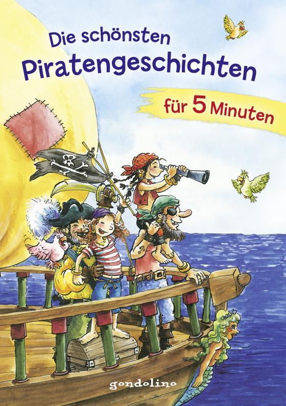 Cover-Bild Die schönsten Piratengeschichten für 5 Minuten