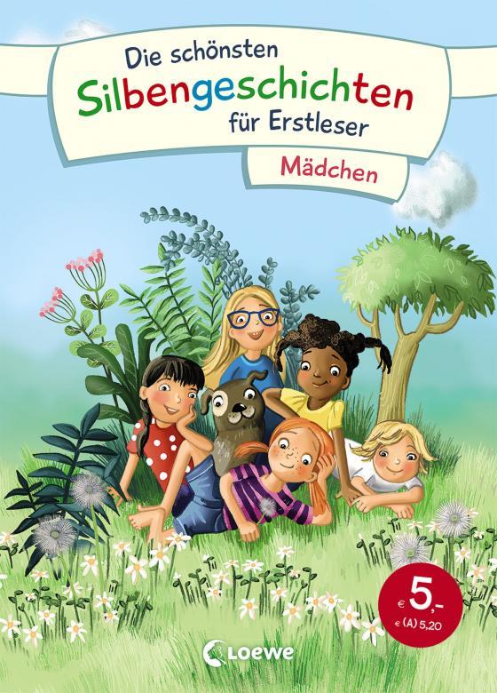 Cover-Bild Die schönsten Silbengeschichten für Erstleser - Mädchen
