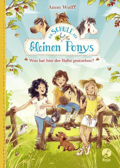 Cover-Bild Die Schule der kleinen Ponys - Wen hat hier der Hafer gestochen?