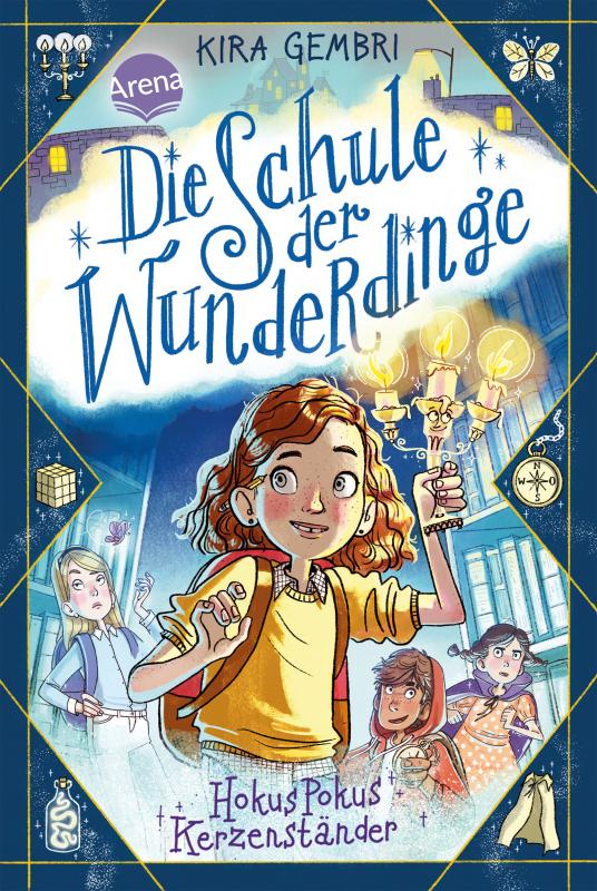 Cover-Bild Die Schule der Wunderdinge (1). Hokus Pokus Kerzenständer