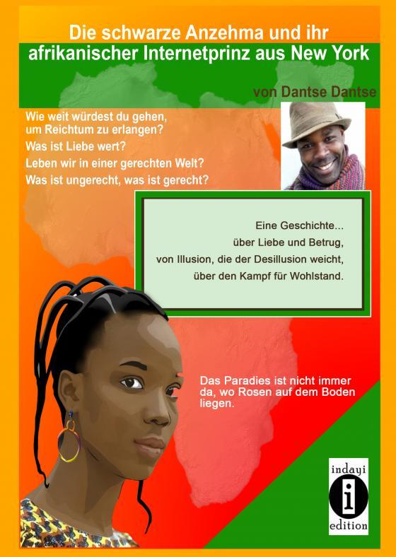 Cover-Bild Die schwarze Anzehma und ihr afrikanischer Internetprinz aus New York