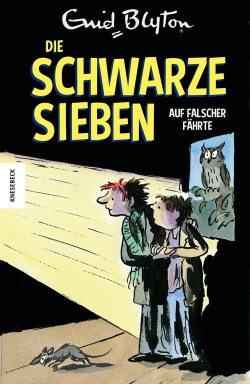 Cover-Bild Die Schwarze Sieben auf falscher Fährte